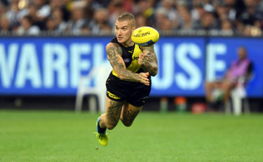 Dustin Martin has parted ways with Puma.