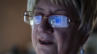 Shirley Chapian sometimes wakes up to check Facebook in the middle of the night.