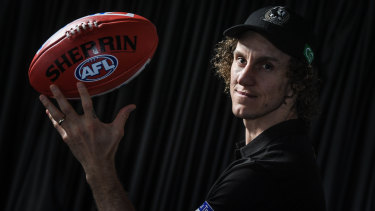 Chris Mayne has become a reliable component of the Collingwood outfit.
