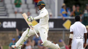 A welcome relief for Usman Khawaja.