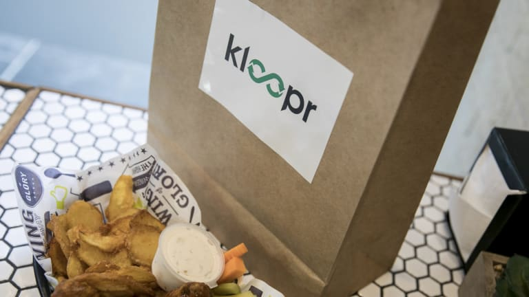 Kloopr launched in Melbourne on Tuesday.