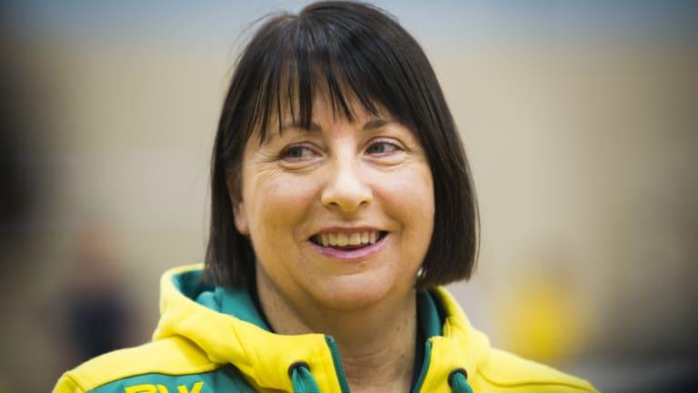 Staying put: Diamonds coach Lisa Alexander.