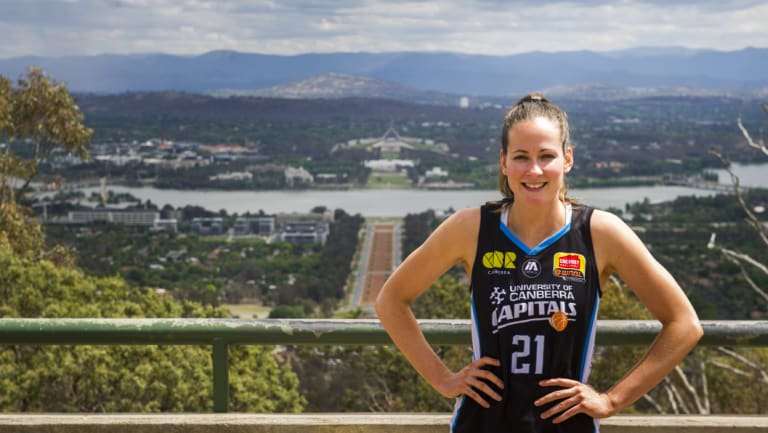 Canberra Capitals player Keely Froling thought her exams were over.
