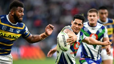 Roger Tuivasa-Sheck is the barometer for the Warriors.