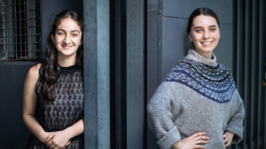 Classical singer Sidra Nissen and ballet dancer Charlotte Deany have both had to improvise to prepare for their VCE performance exams.