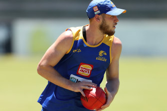 West Coast's Daniel Venables missed all of 2020 with ongoing concussion issues.