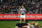 The MCG was listed as a COVID exposure site for the Carlton-Geelong match on July 10 after incidences of virus transmission among patrons.