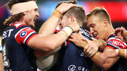 Sam Walker's seven magical minutes seals great Roosters comeback win