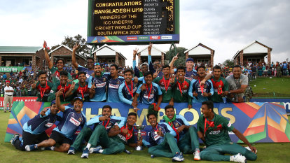 Five players banned after under-19 cricket World Cup final brawl