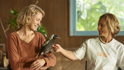 'The trickle went down my face': Naomi Watts on working with magpies