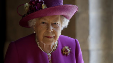 The Queen has not been seen since Prince Philip's death last Friday.