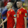 Did Spain's golden generation finally pass itself to death in Russia?