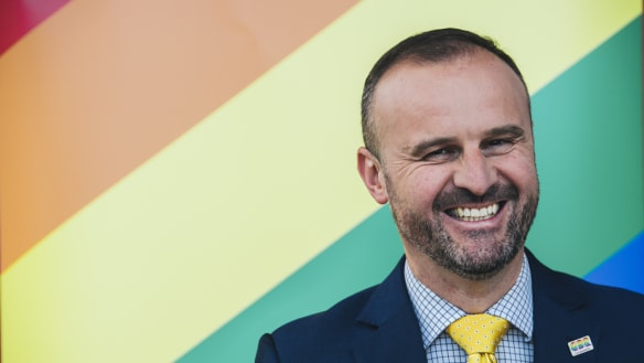 Andrew Barr to start to close discrimination loophole next week