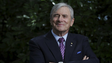 Seven Group Holdings chairman Kerry Stokes is a happy man after his strategy to snare Boral succeeded.