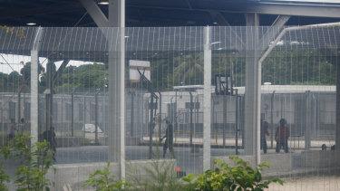 Australia's offshore detention centre on Manus Island in Papua New Guinea.