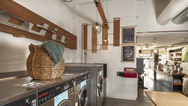 The Soap Bar Launderette.