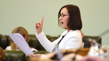 Attorney-General Yvette D'Ath moved the motion just before 10pm on Wednesday night.