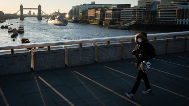 London has been transformed into a ghost-town after Prime Minister Boris Johnson told Britons to stay at home.