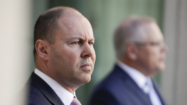 Treasurer Josh Frydenberg and Prime Minister Scott Morrison will decide what to do with the $60 billion windfall.