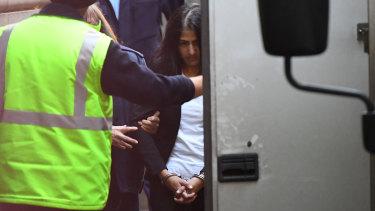 Sofia leaves court on Thursday