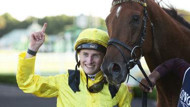 English jockey Tom Marquand added some spice to Sydney's autumn.