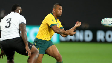 Wallabies coach Michael Cheika has benched Kurtley Beale for the crucial class with Wales on Sunday.
