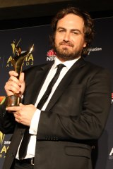 Justin Kurzel in 2012, when he won best director for Snowtown.