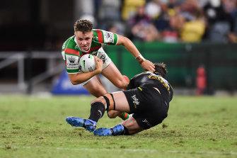 Blake Taaffe isn't the biggest fullback in the NRL, but he's full of South Sydney spirit.