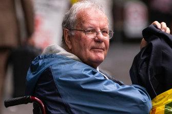 Rex Francis Elmer after an earlier court appearance.