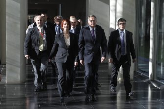 In 2010, Julia Gillard emerged victorious after a leadership ballot toppled prime minister Kevin Rudd, a move made possible by the Right. Her removal and Rudd's re-instatement three years later was also made possible by a significant group in the Right deserting her.