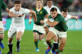 Optus fought hard for the rights to this year's Rugby World Cup in Japan, which was won by South Africa, but lost out to Fox Sports.