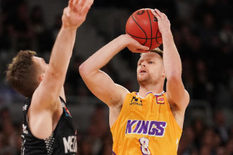 Sydney Kings star Brad Newley made a young basketball fan's day during the week.
