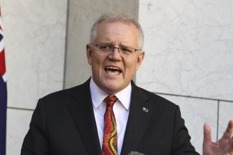 Prime Minister Scott Morrison wants everyone aged 16 and over to get vaccinated.