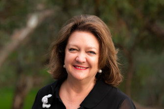 Australia's richest woman Gina Rinehart, whose fortune was made in iron ore, took a stake in Fairfax in 2012.