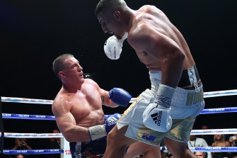 It may not be against Huni, but Gallen vows to return to the ring