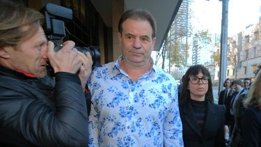 John Setka and his wife Emma Walters arrive at Melbourne Magistrates Court.