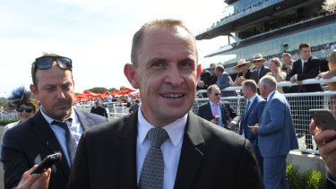 Slipper watch: Chris Waller has taken over the training of Golden Slipper hopeful Yes Yes Yes.