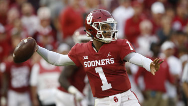 Decision time: Kyler Murray has finally ended speculation over his preferred professional sport.