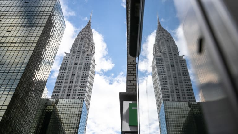Up for sale: The Chrysler building is one of the most iconic skyscrapers in Manhattan.