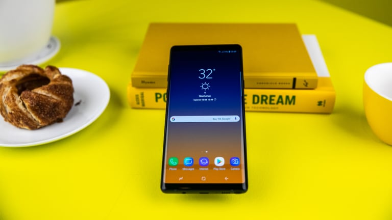 The Note9 comes optionally with 512GB of storage built in.