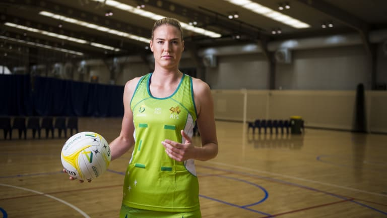 Diamonds netball team captain Caitlin Bassett.