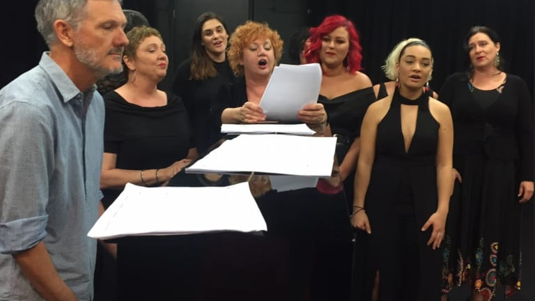 Women in Voice singers unite in an everlasting love for song.