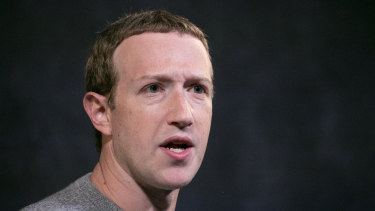 Facebook CEO Mark Zuckerberg. The tech giant has said that concerns about its handling of privacy and harmful content are important, but they are not antitrust issues.