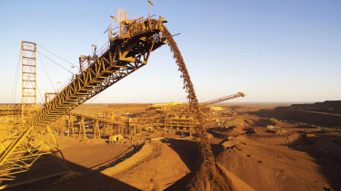 Australian miners have received a huge boost over the past year as the price of iron ore, the nation's biggest export, hit a record $US230 a tonne