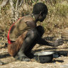 Hunter-gatherers don't sit like us. That could hold health benefits