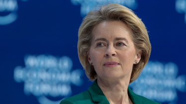 Ursula von der Leyen will travel to Washington hoping to avert a trans-Atlantic tariff war.