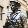 'Sharing the spotlight': Anzac Day - from dawn to dusk