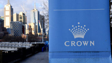 The troubled Crown Resorts has appointed Bruce Carter to its board.