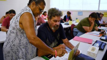 Adult literacy lessons transforming Aboriginal communities