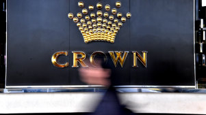 The scandals at Crown Casino provided plenty of material for questions in Parliament, but only two eventuated on Monday.
